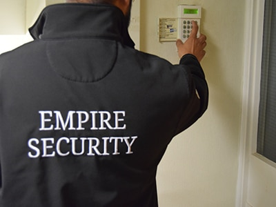 Key Holding and alarm response Empire Security Services